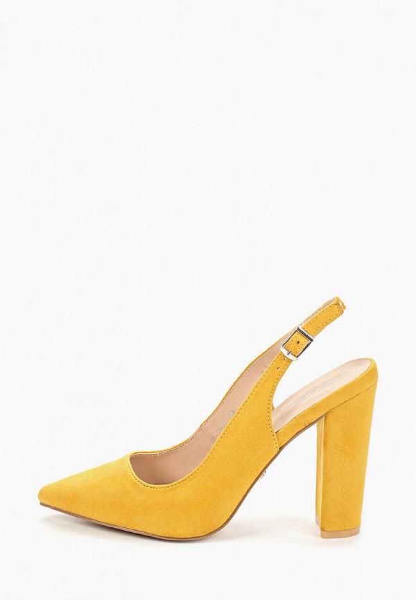 женские туфли ideal shoes, желтые