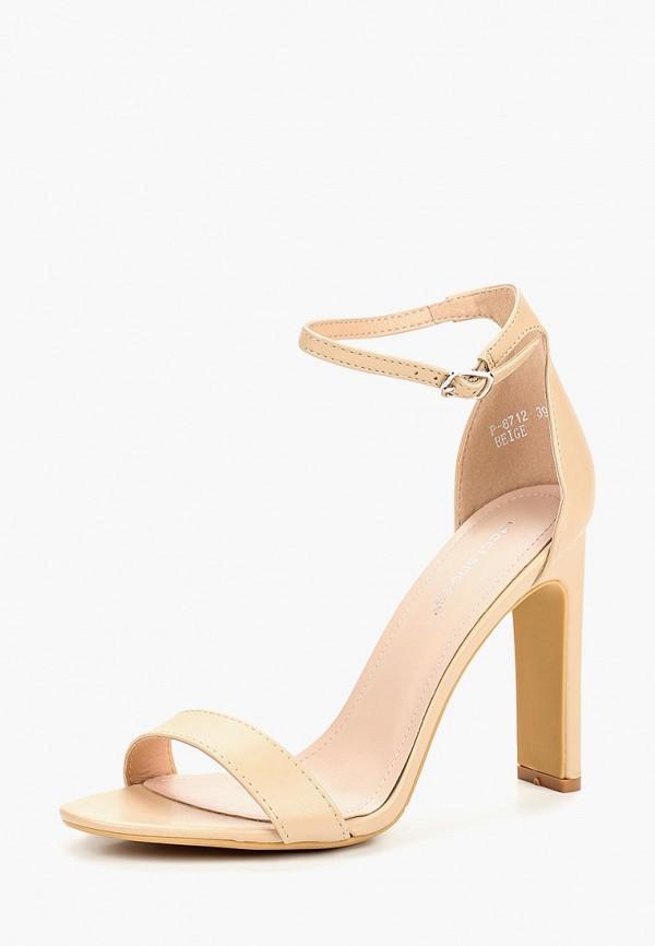 Фото 2 - женские босоножки Ideal Shoes бежевого цвета