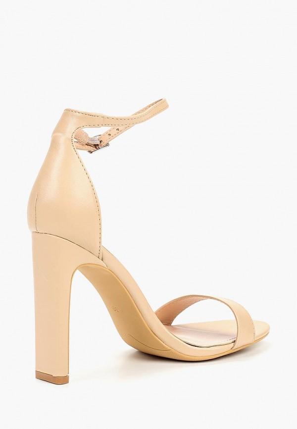 Фото 3 - женские босоножки Ideal Shoes бежевого цвета