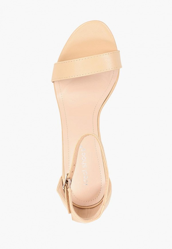 Фото 4 - женские босоножки Ideal Shoes бежевого цвета