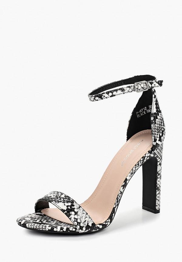 Фото 2 - женские босоножки Ideal Shoes черного цвета