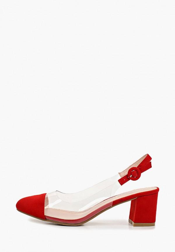 Фото - женские туфли Ideal Shoes красного цвета