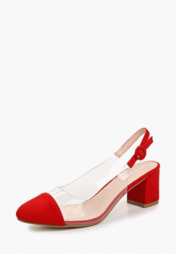 Фото 2 - женские туфли Ideal Shoes красного цвета