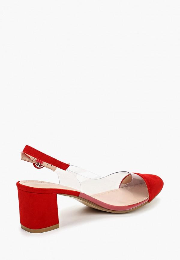 Фото 3 - женские туфли Ideal Shoes красного цвета