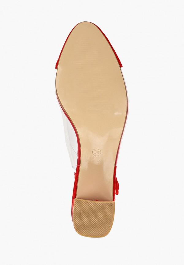Фото 5 - женские туфли Ideal Shoes красного цвета