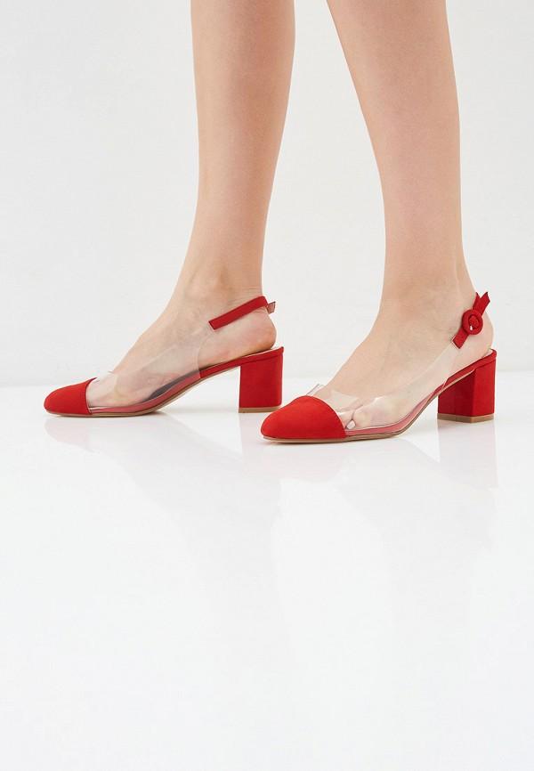 Фото 6 - женские туфли Ideal Shoes красного цвета