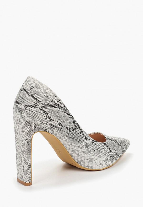 Фото 3 - женские туфли Ideal Shoes серого цвета