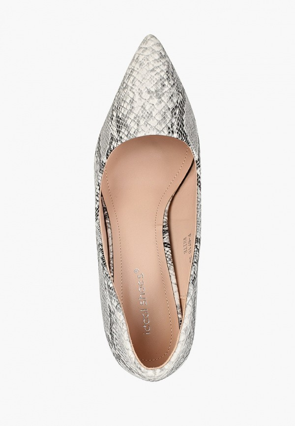 Фото 4 - женские туфли Ideal Shoes серого цвета