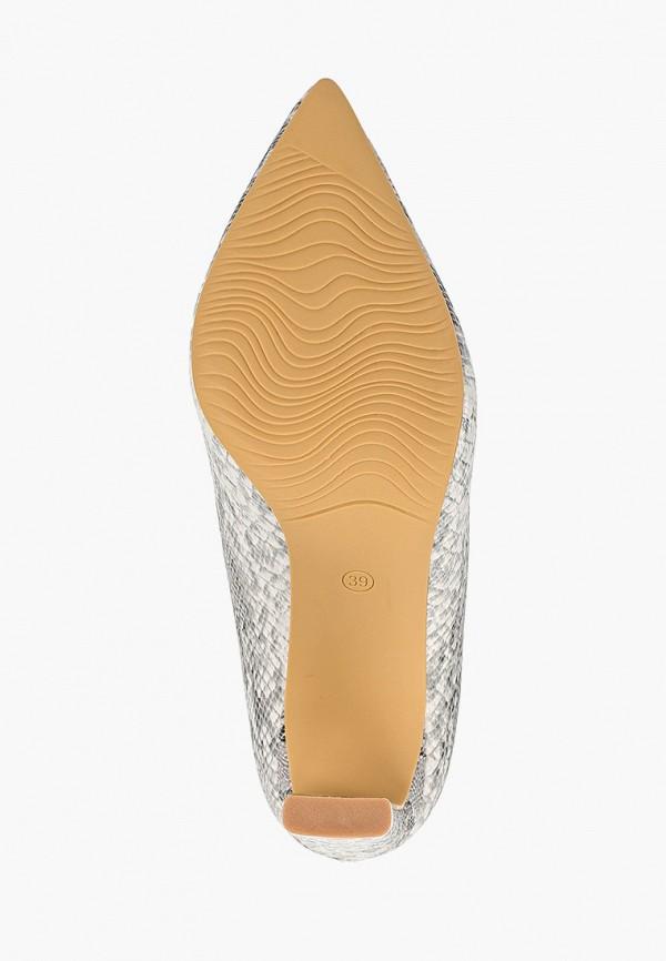 Фото 5 - женские туфли Ideal Shoes серого цвета