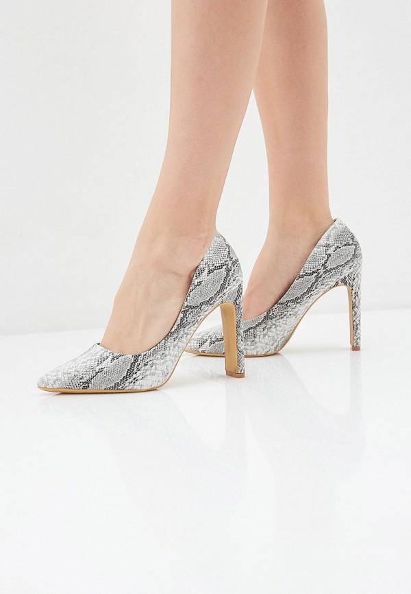 Фото 6 - женские туфли Ideal Shoes серого цвета