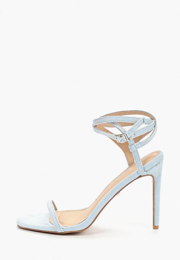женские босоножки ideal shoes, голубые