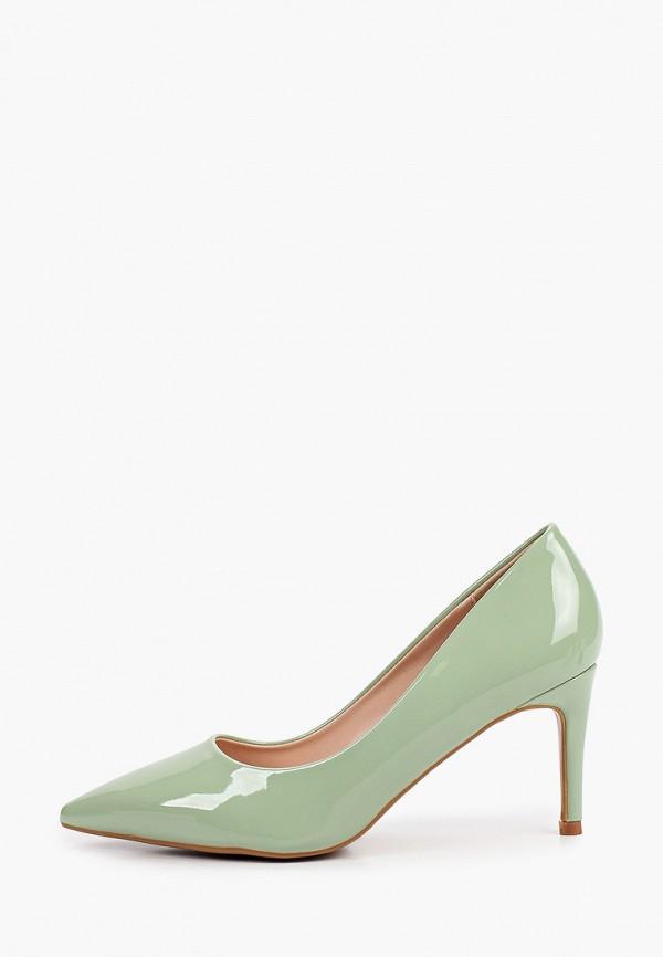 женские туфли ideal shoes, зеленые