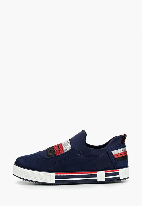 женские кеды ideal shoes, синие