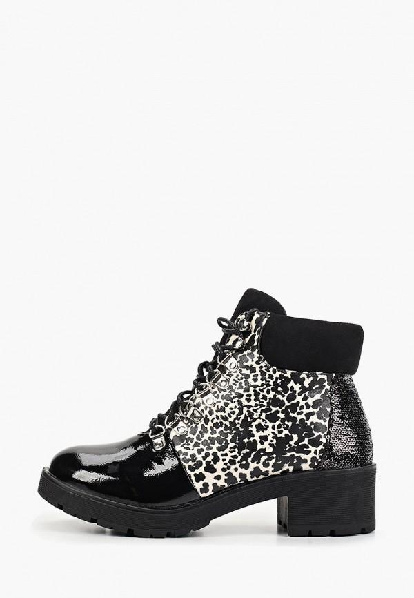 Ботильоны Ideal Shoes Ideal Shoes ID007AWGPBK1