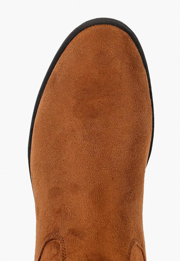Фото 4 - женские сапоги Ideal Shoes коричневого цвета