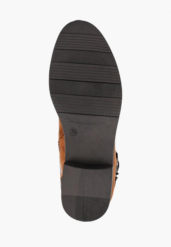 Фото 5 - женские сапоги Ideal Shoes коричневого цвета
