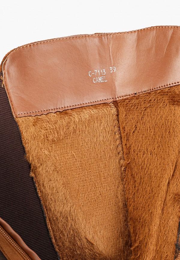 Фото 6 - женские сапоги Ideal Shoes коричневого цвета