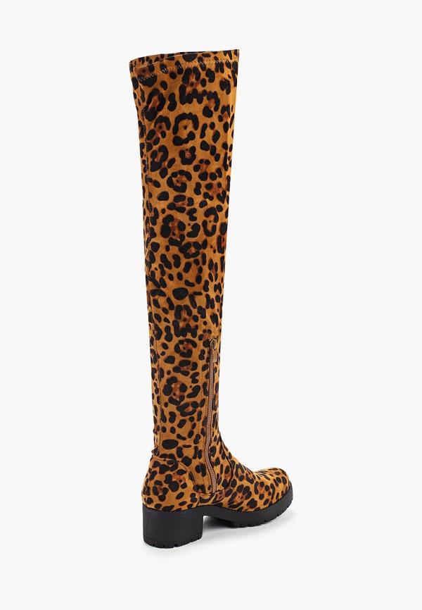 Фото 3 - женские ботфорты Ideal Shoes коричневого цвета