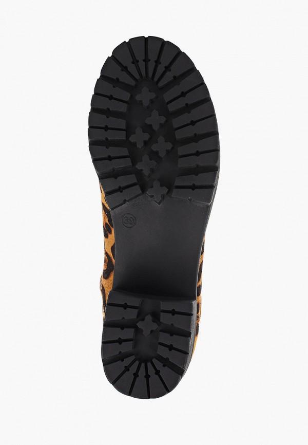 Фото 5 - женские ботфорты Ideal Shoes коричневого цвета