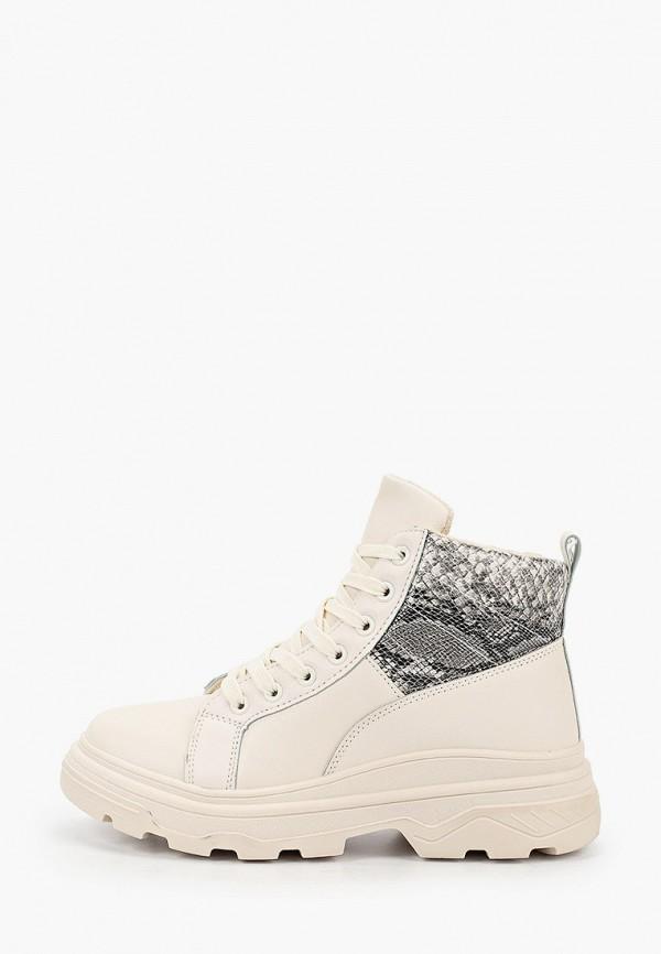 Фото - женские ботинки и полуботинки Ideal Shoes бежевого цвета