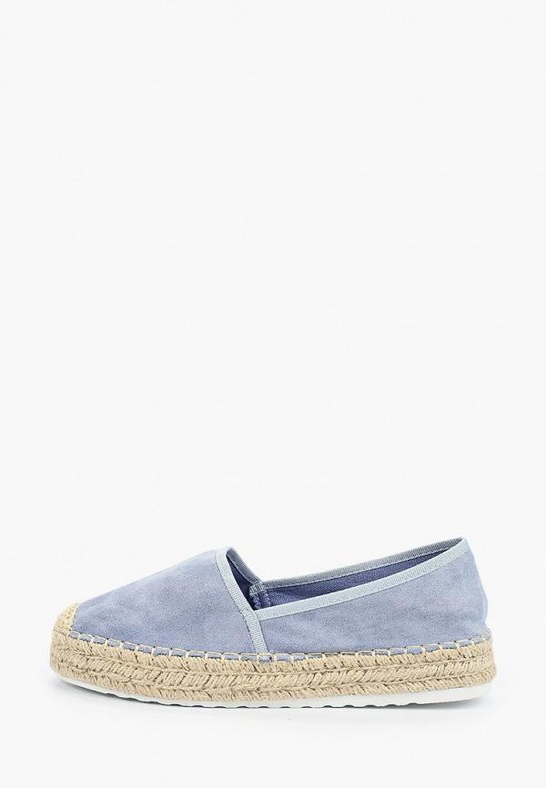 женские эспадрильи ideal shoes, голубые