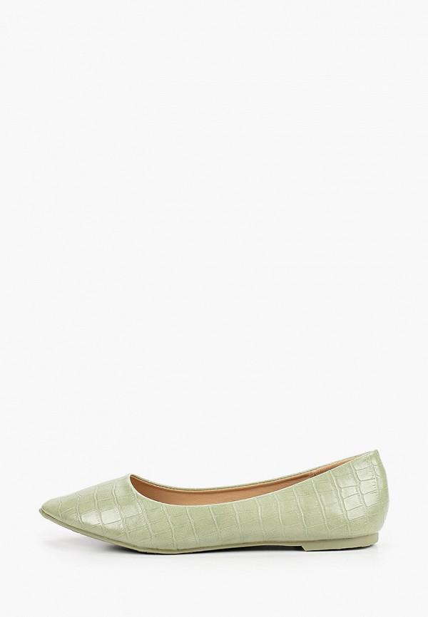 женские балетки ideal shoes, серые