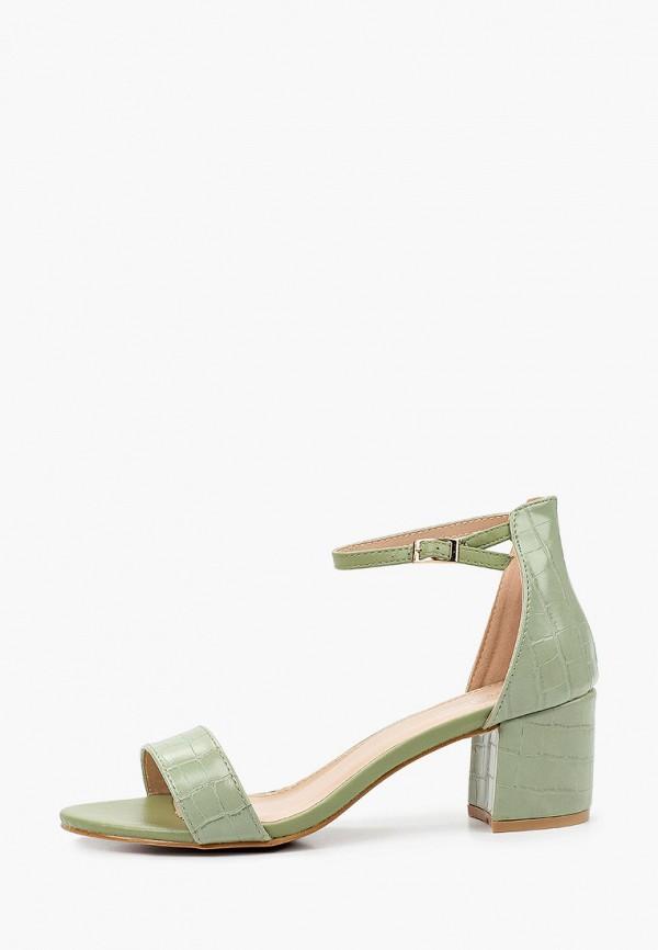 женские босоножки ideal shoes, хаки