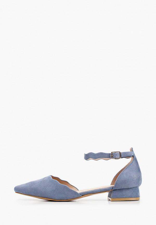 женские туфли ideal shoes, голубые