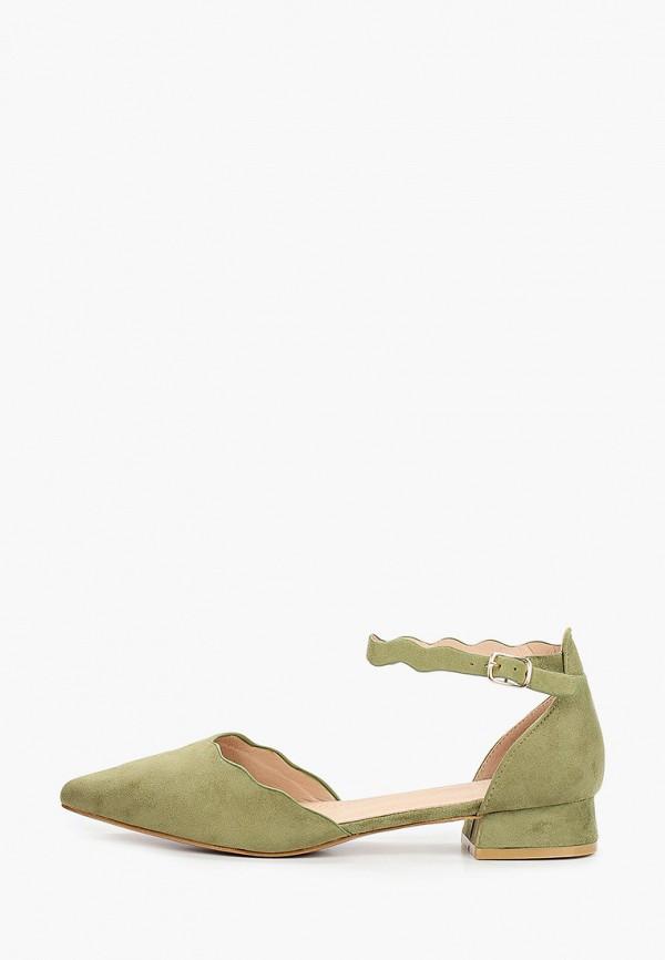 женские туфли ideal shoes, хаки