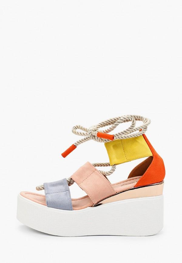 женские босоножки ideal shoes, разноцветные
