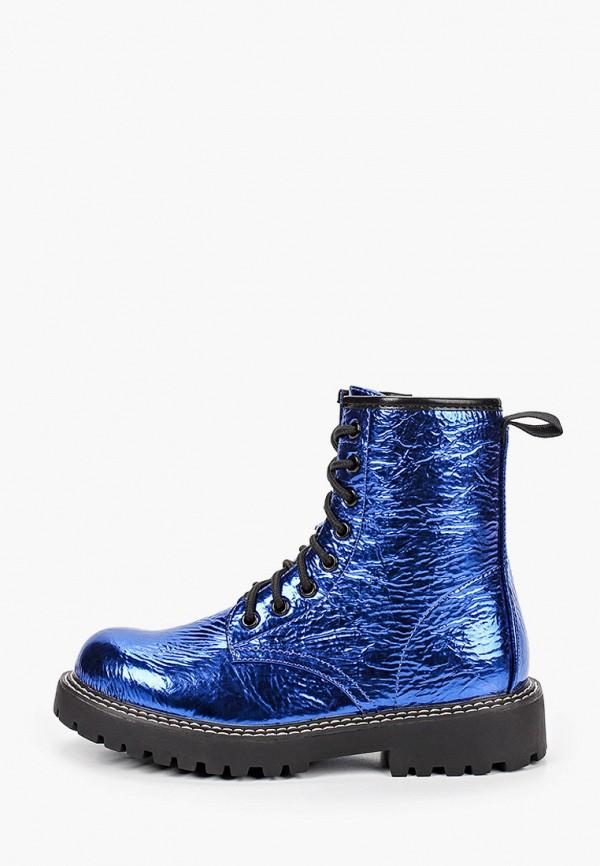 женские ботинки ideal shoes, синие