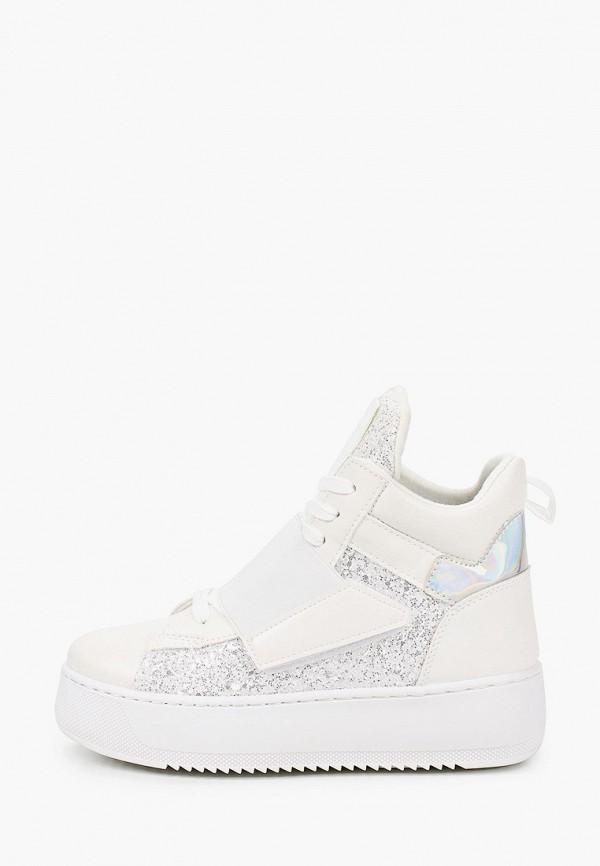 женские кеды ideal shoes, белые