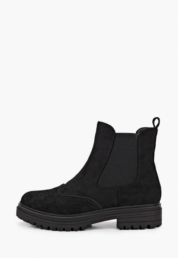 женские ботинки ideal shoes, черные