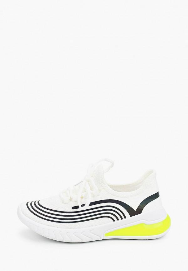 женские кроссовки ideal shoes, белые