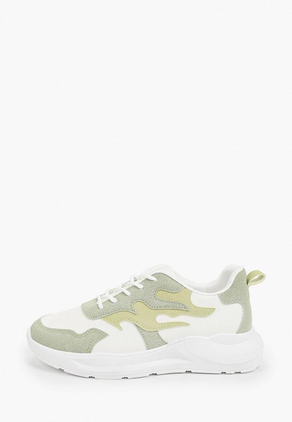 женские кроссовки ideal shoes, зеленые