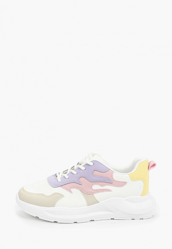 женские кроссовки ideal shoes, разноцветные