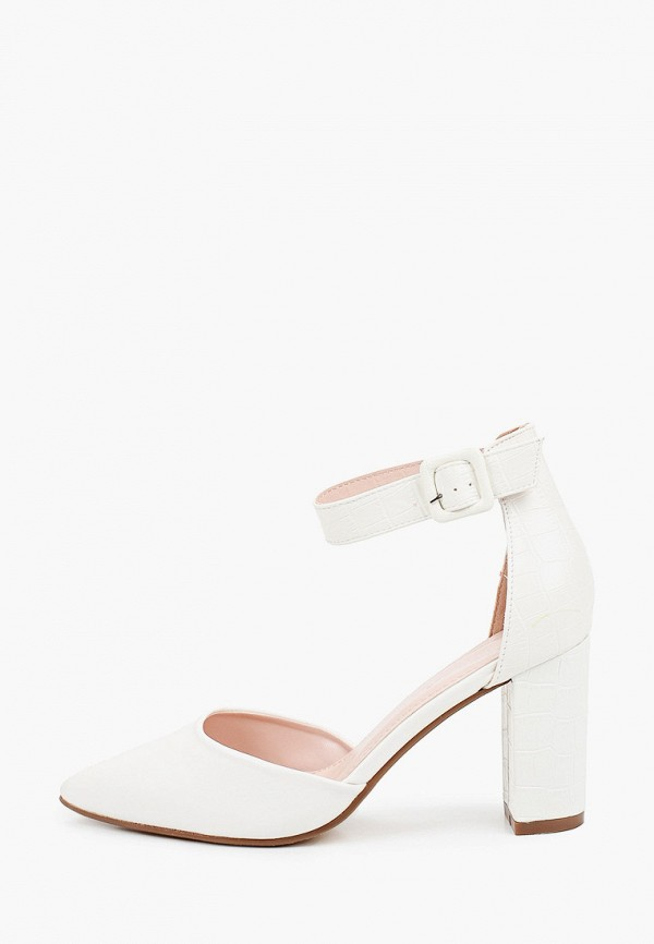 женские туфли ideal shoes, белые