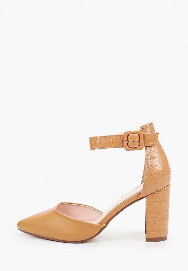 женские туфли ideal shoes, коричневые