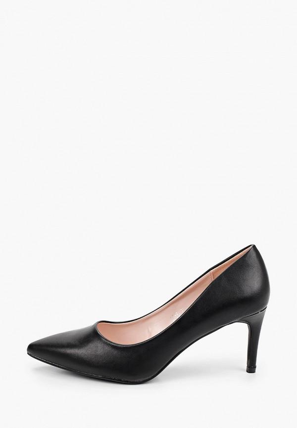 женские туфли ideal shoes, черные