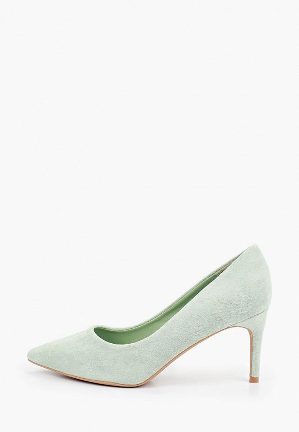 женские туфли-лодочки ideal shoes, зеленые