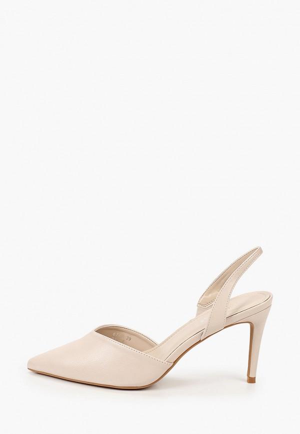 женские туфли ideal shoes, бежевые