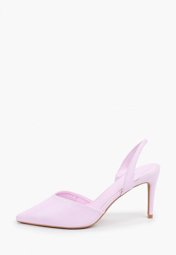 женские туфли ideal shoes, фиолетовые