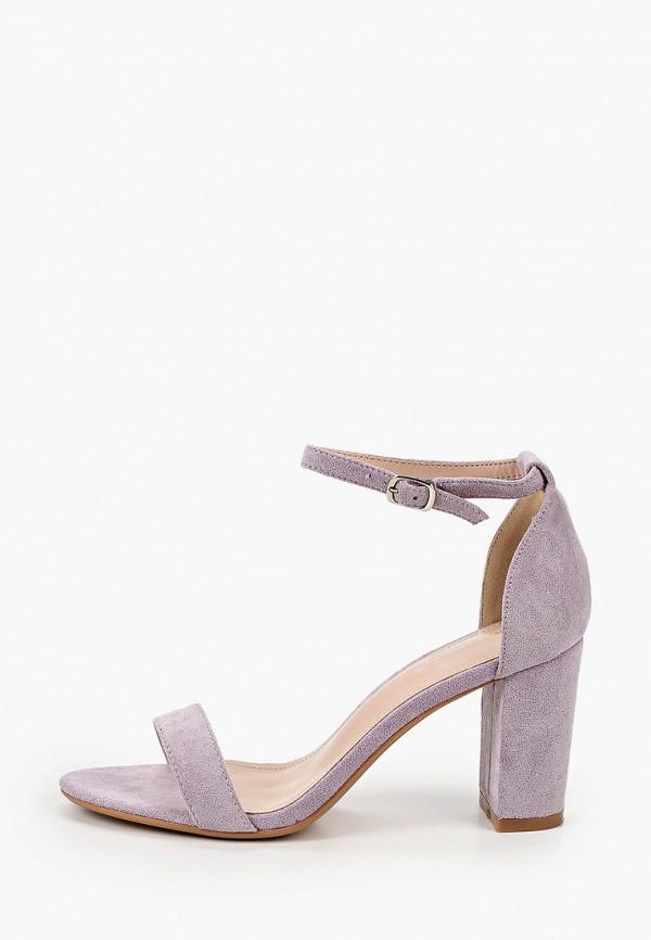 женские босоножки ideal shoes, фиолетовые