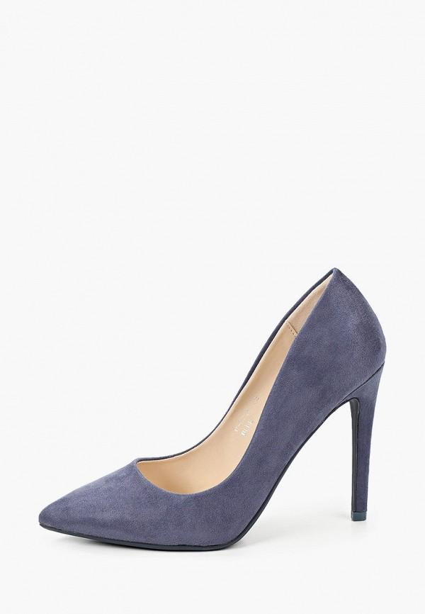 женские туфли ideal shoes, синие