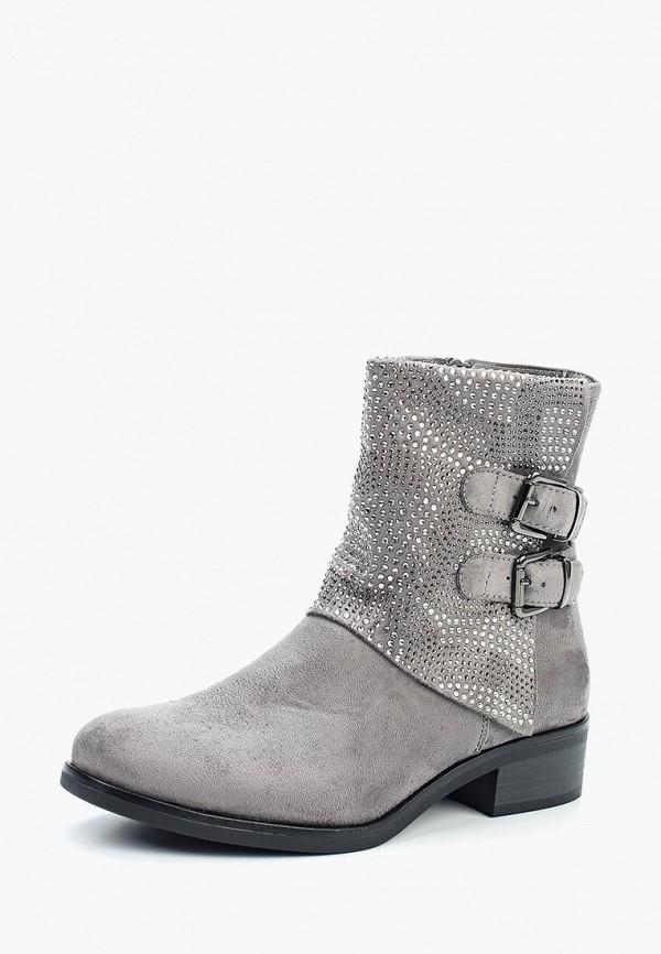 Купить Полусапоги Ideal Shoes, id007awxxk34, серый, Осень-зима 2017/2018