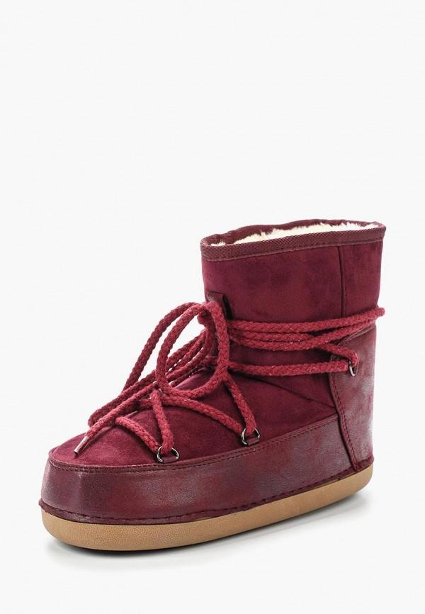 Купить Луноходы Ideal Shoes, ID007AWXYV55, бордовый, Осень-зима 2018/2019