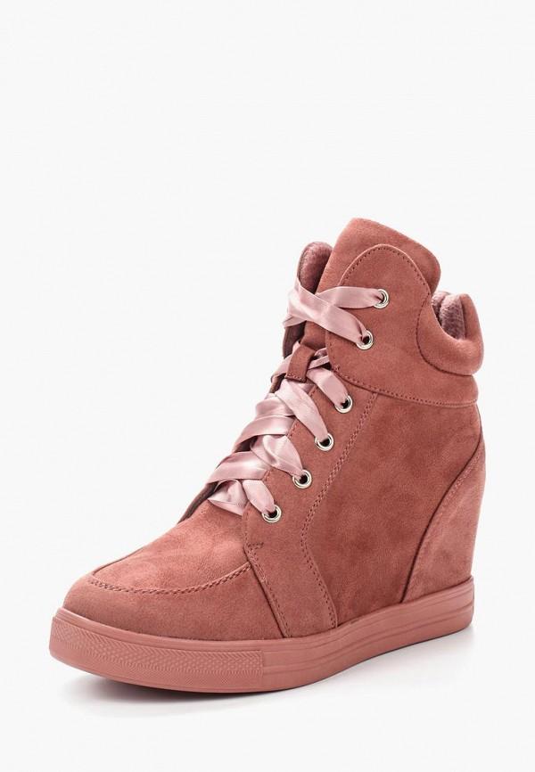 Кеды на танкетке Ideal Shoes Ideal Shoes ID007AWYRA27 кеды ideal shoes ideal shoes id005awsbf35
