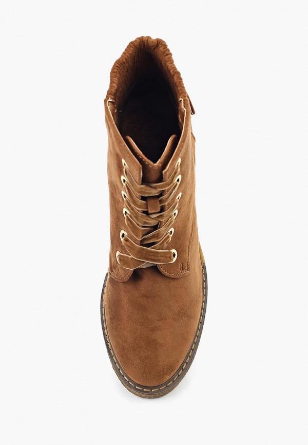 Фото 4 - женские ботильоны Ideal Shoes коричневого цвета