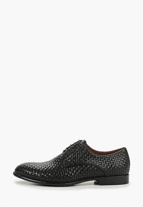мужские туфли id! collection, черные