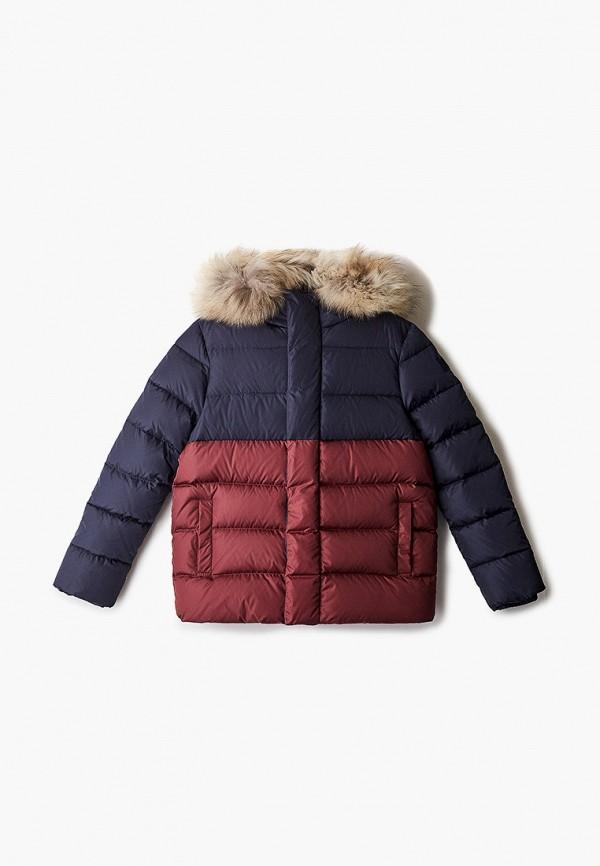 куртка il gufo для мальчика, бордовая